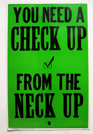 You Need a Check Up1995 | GEORGE HORNER